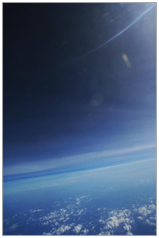 Clouds over Indian Ocean