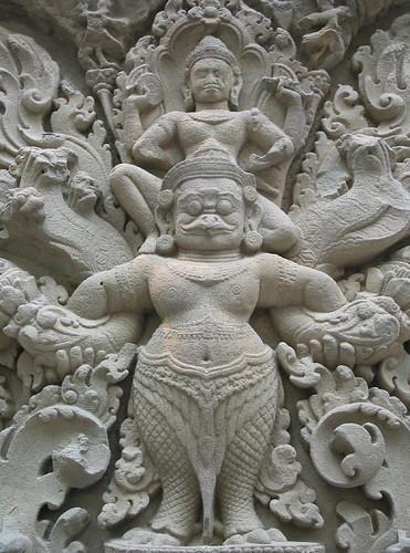 Vishnu與Garuda