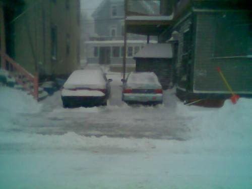 all shoveled