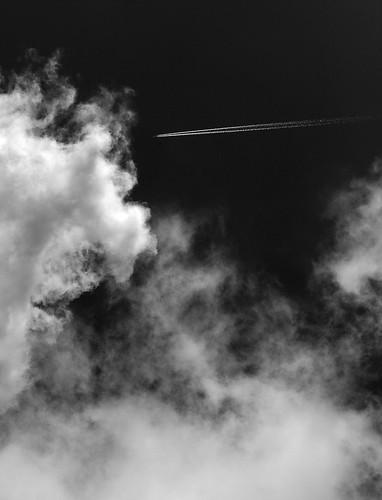 plane cloud