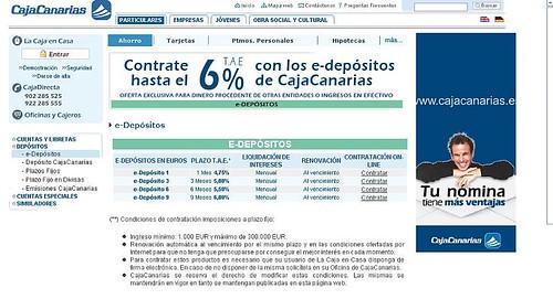 e-deposito web cajacanarias
