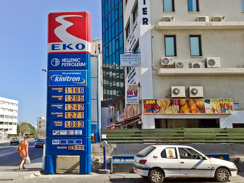 Gas Prices in Cyprus
