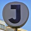 J - järnväg = railway