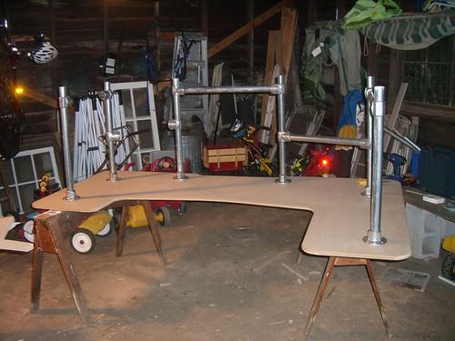build computer desk