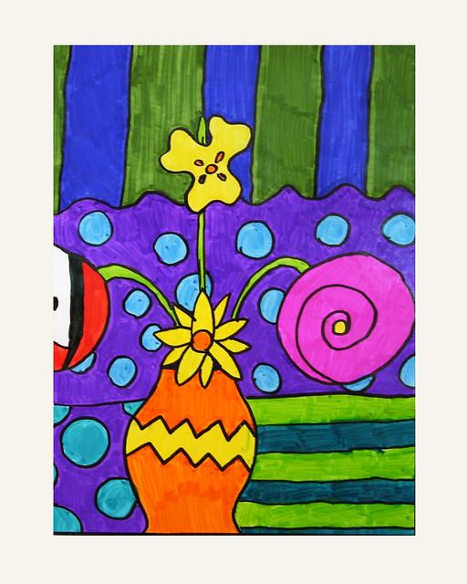 Romero Britto inpired pop art | Flickr - Photo Sharing!