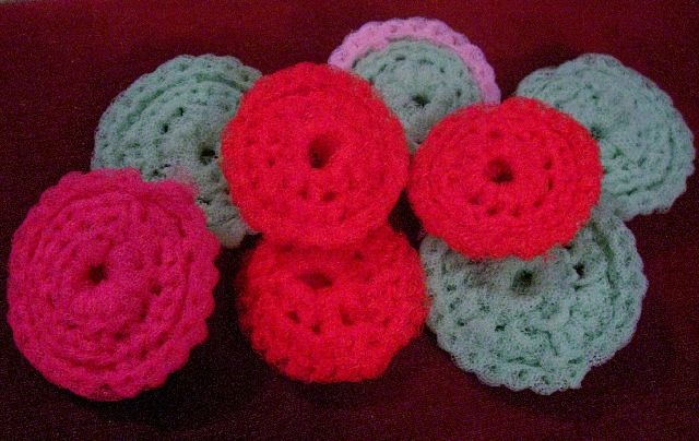 Crochet Pattern: All Purpose Scrubbie