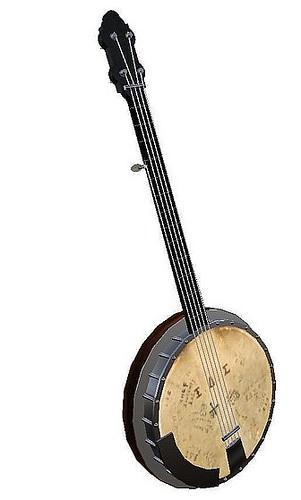 My Banjo - angled