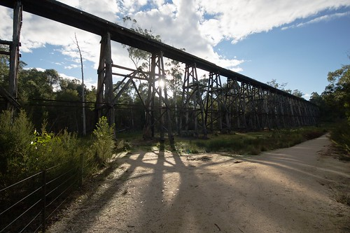 The stony creek railway bridge
