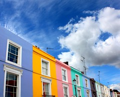 Candy colored Portobello Road photo by JenniPenni