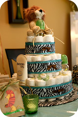 Diaper Cake photo by Joanne H Pio Photography