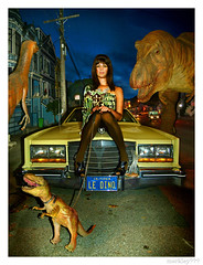 Le Dinosaur - Scene Magazine Cover Fall 2008 photo by merkley???