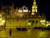 Seville, Andalucia, Spain, The Apse of the Cathedral by night built on the 12th Century.