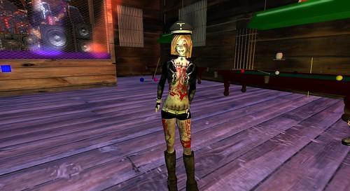 Zombie Biker Chick Annie