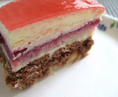 raspberry silk cake