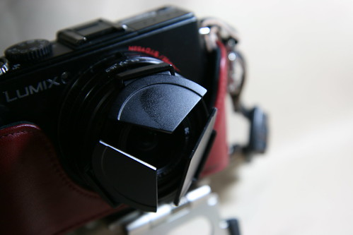 DMC-LX3 with Eveready Case RED [60mm]