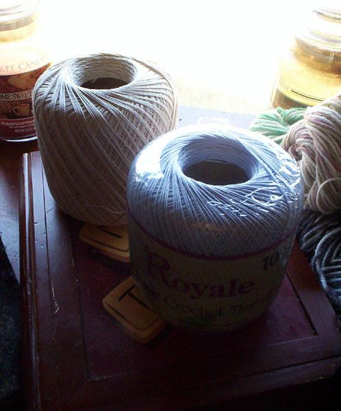 Cotton Threads, Beads, etc.