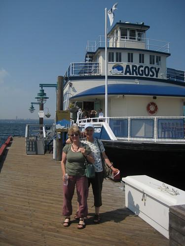 faith, jessica and a lake cruise