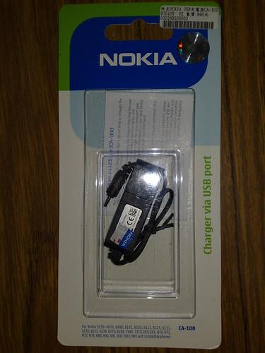 Nokia CA-100 正面
