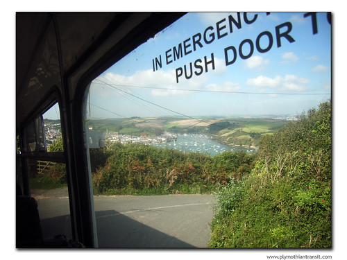 The view from the bus: East Portlemouth