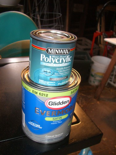 Polycrylic and Paint