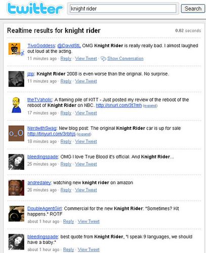 KnightRiderTwitter