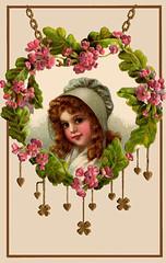 Vintage St. Patrick's Day postcards (2)