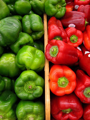 Pepper Power , Red and Green photo by moonjazz