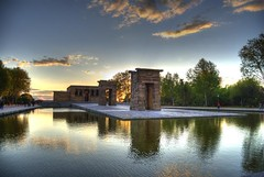 templo debod, hdr photo by fernando garcía redondo