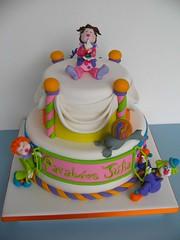 Bolo circo... (www.djalmareinaldo.com.br) photo by Djalmma Reinalldo (Cake Designer)