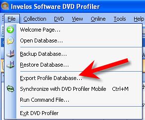 DVD Profiler 9