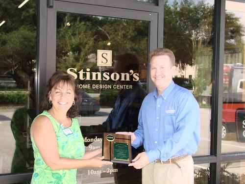 SBA Winner - August - Stinson