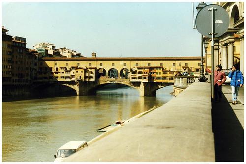 Ponte Vecchio, Florence, Italy, 1984