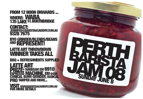 Perth Barista Jam 08