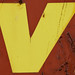 yellow v