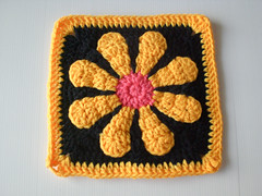 Daisy Square as Dishcloth