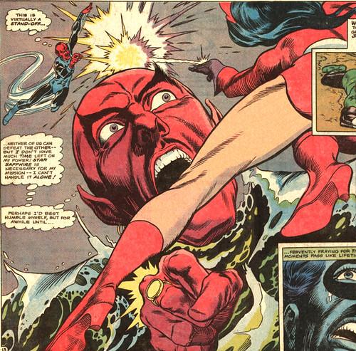 Sinestro vs Star Sapphire in Green Lantern 74, 1970