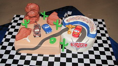 Cars Cake! photo by Creative Cakes by Ashley