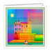 Broughty Castle Greeting Card
