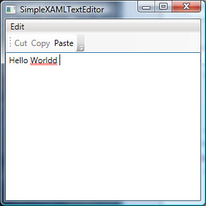 SimpleXAMLTextEditor