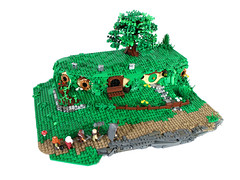 Lego Bag End Revisited [MOC]