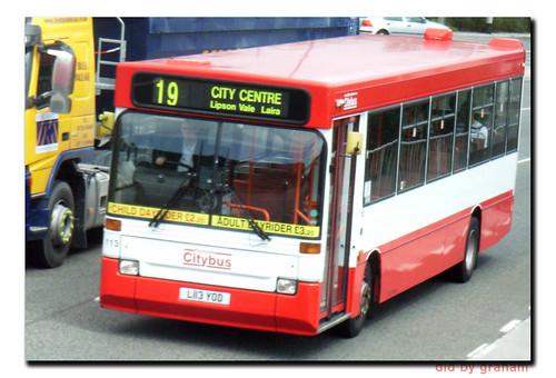 Plymouth Citybus 113 L113YOD