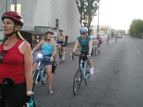 Women on Bikes Ride