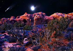 Arches Moonrise photo by JamesWatkins