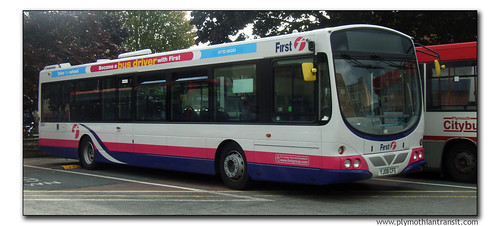 First Devon and Cornwall 69350 YJ08CFE