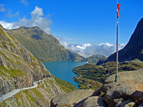 View of Lac d'Emosson