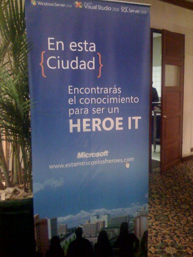 Launch Heroes 2008 Banner