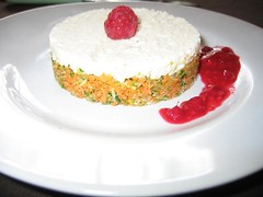 tartare légumes/fromage frais
