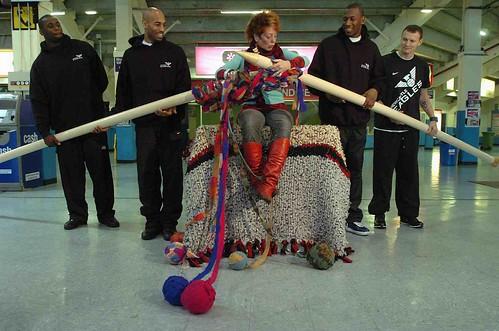 Knitted Bib Patterns : Tejido en grande ~ puntoyaparte