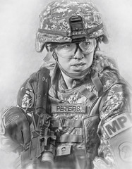 us army - female soldier photo by hoon_