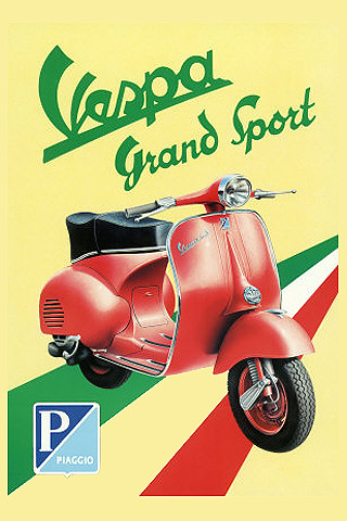 vespa sport iPhone wallpaper